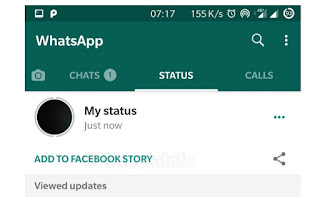 How to Share Status on Facebook via WhatsApp and New QR Code feature