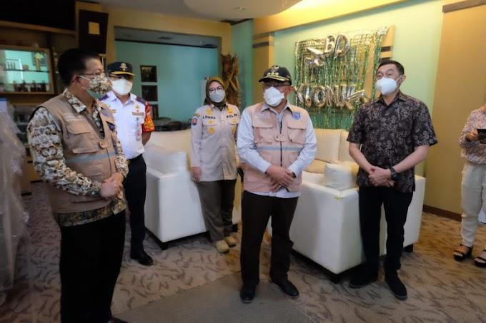Walikota Sidak Pemberlakuan PPKM di Perusahaan