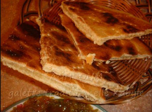 La Cuisine De Tinhi Aghroum Kessra Thametount Galette Kabyle