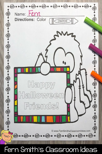 Click Here to Download These Halloween Coloring Pages - Halloween Coloring Book For Your Children Today!