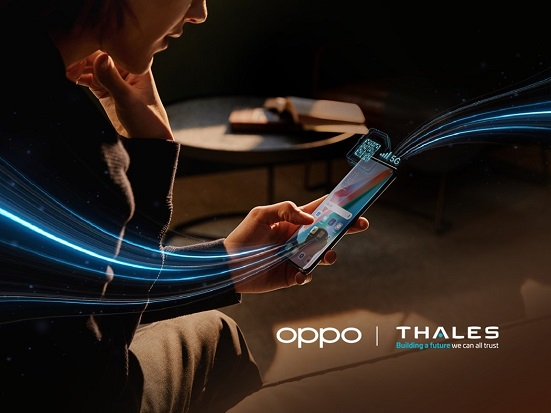 OPPO-Thales : World's First 5G SA-Compatible eSIM