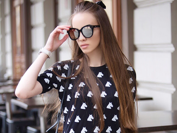 Accessories power: Turn sunglasses the main detail of your outfit!