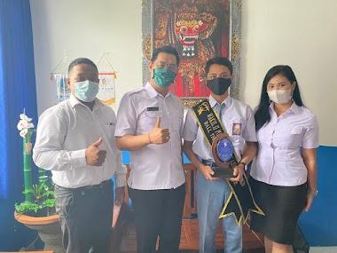 Runner Up 2 Putra Sekolah Ajeg Bali 2020, Bagus Krishna Mendapat Beasiswa Dari Sekolah