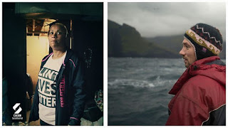 Still portraits of people from both documentaries