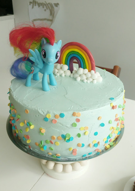 my little pony cake rainbow dash cake