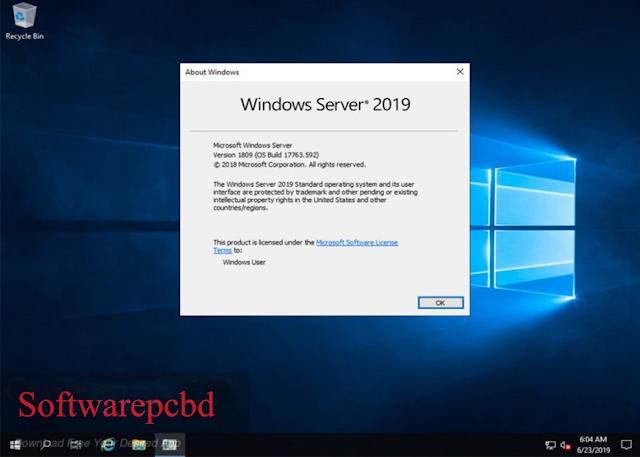 Windows 10 Server Standard Updated June 2019 Download