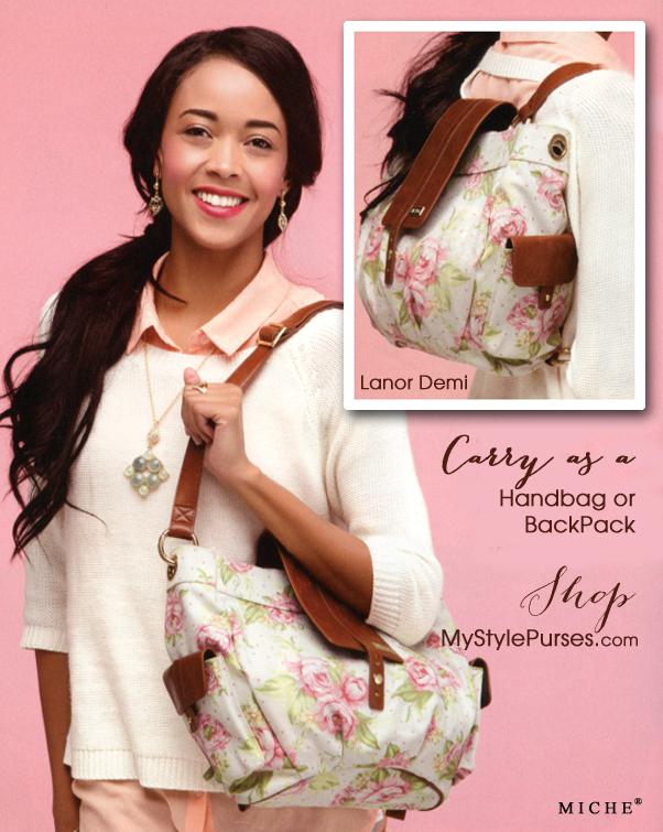 LaNor Demi Shell is a Handbag and Backpack   Shop MyStylePurses.com