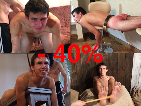 #RusStraightGuys - Plumber Nik 19 y.o. – Crazy sale offer !