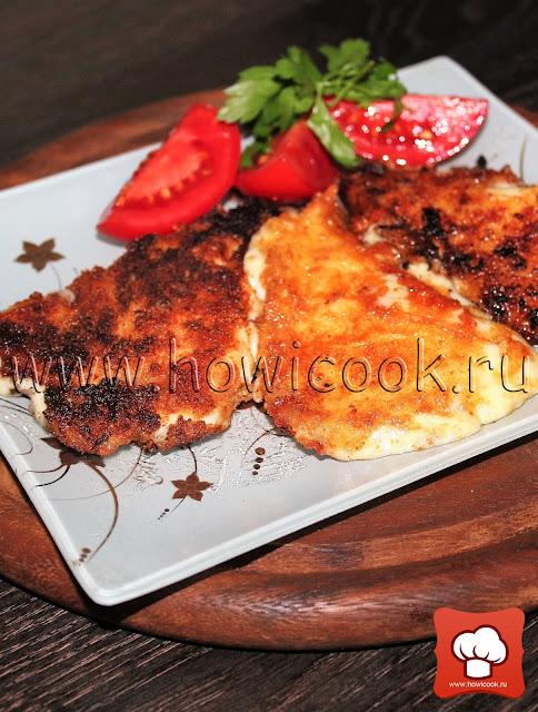 рецепт жареного сыра с фото