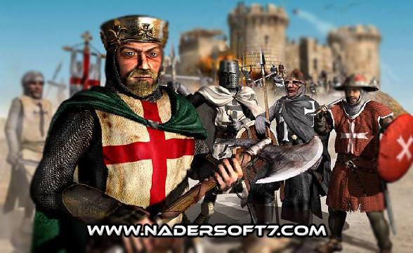 تحميل لعبه صلاح الدين القديمه Stronghold Crusader  للكمبيوتر كامله