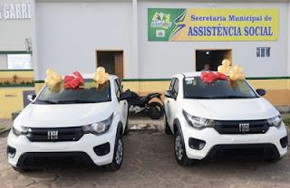 Prefeitura de Anapurus-MA recebe dois veículos zero km do Ministério da Cidadania
