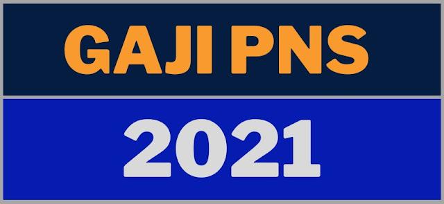GAJI PNS 2021