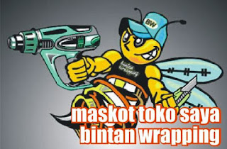 Maskot Bintan Wrapping