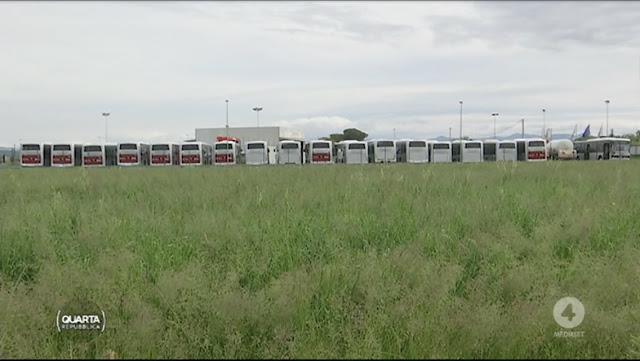 Roma, ancora fermi i 70 bus noleggiati