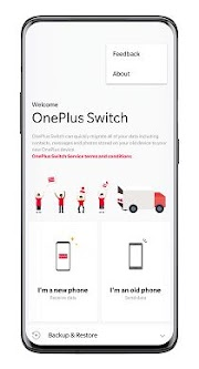onePlus Switch: How to use it