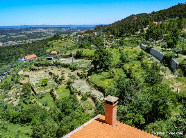 Paisagem da Serra da Estrela, Portugal