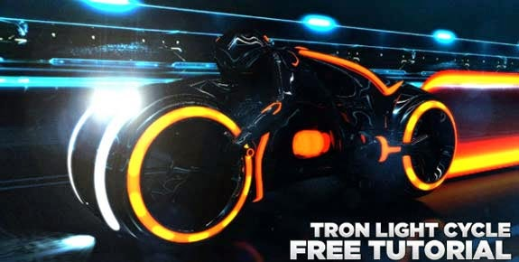 Build your own Tron light cycle