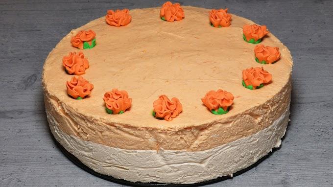 Tortul Toamnei (Cheesecake cu Caramel si Dovleac)