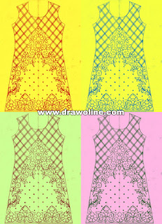 Kurtis design patterns pencil sketch for hand work, very stylish ladies dresses design for hand embroidery and machine embroidery designs