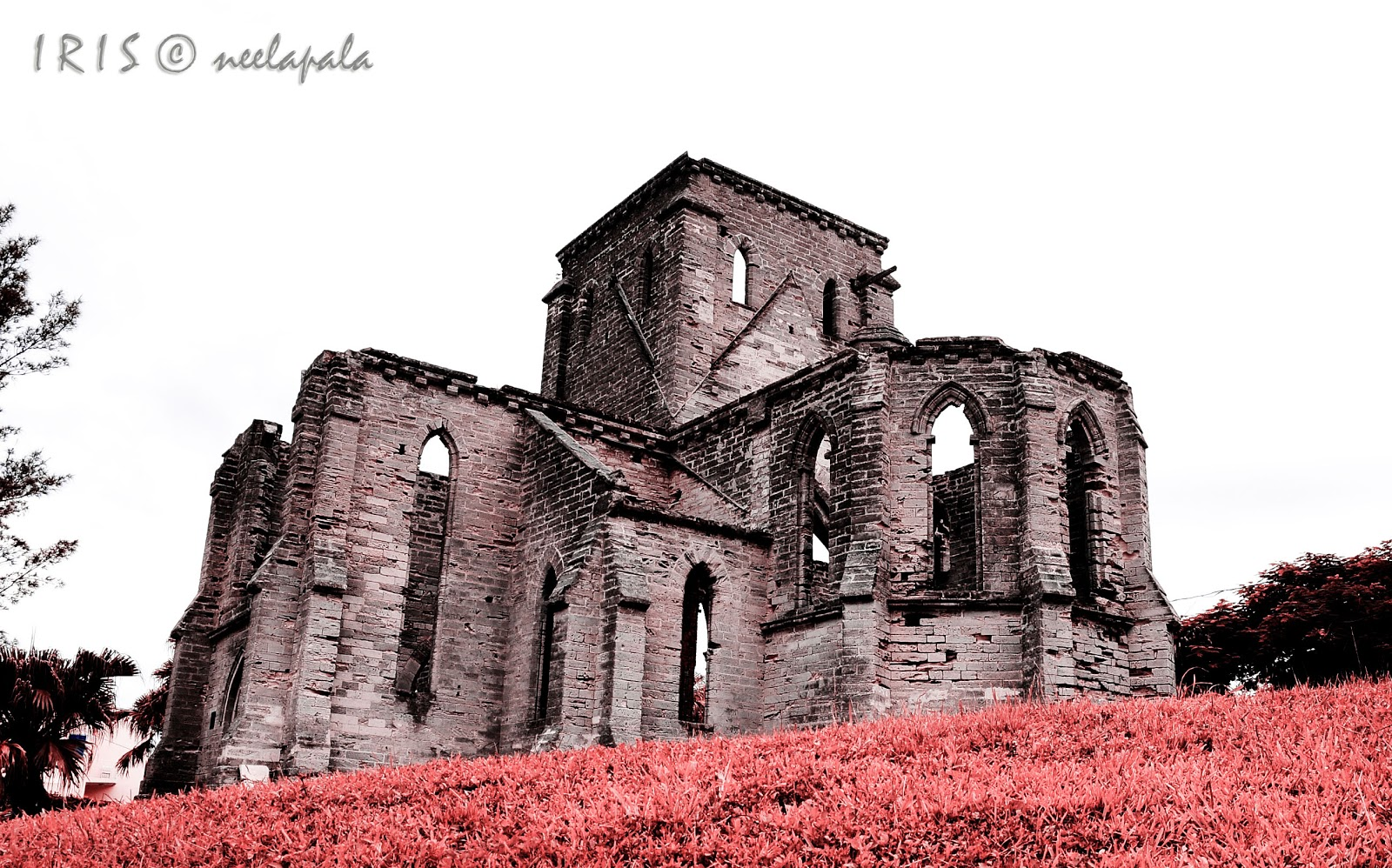 Unfinished Church, Infrared