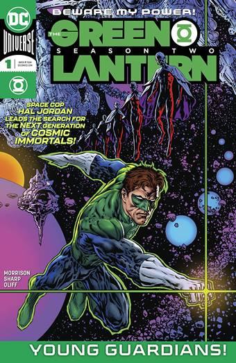 Llega la segunda temporada del Green Lantern de Morrison
