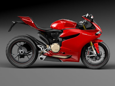 New 2016 Ducati 1299 Panigale S side view HD