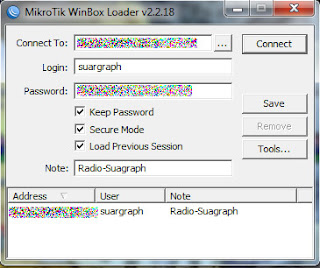 Bandwidth Management on Mikrotik using Winbox