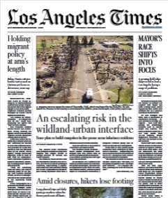 Los Angeles Times Magazine 25 September 2021