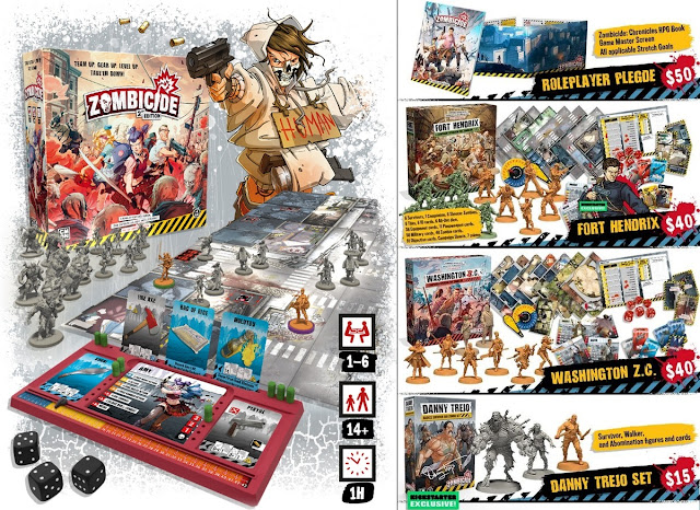 Zombicide 2nd Edition (Kickstarter)