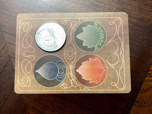 Antinomy wallet game card game from Button Shy Games; Review by Benjamin Kocher