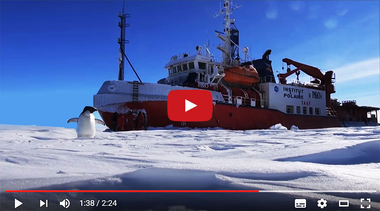 Expédition Antarctica : Jour 1 - ARTE Future.