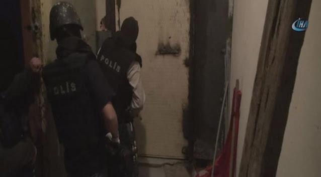 DHKP-C il sorumlularının toplantısına polis baskını