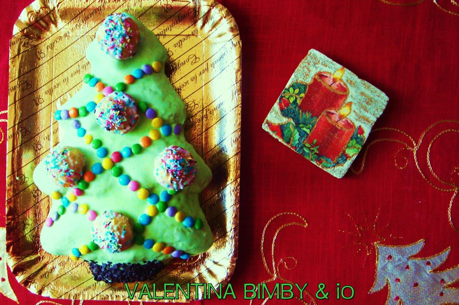 Dolce Di Natale Albero.Le Ricette Di Valentina E Bimby Torta Albero Di Natale
