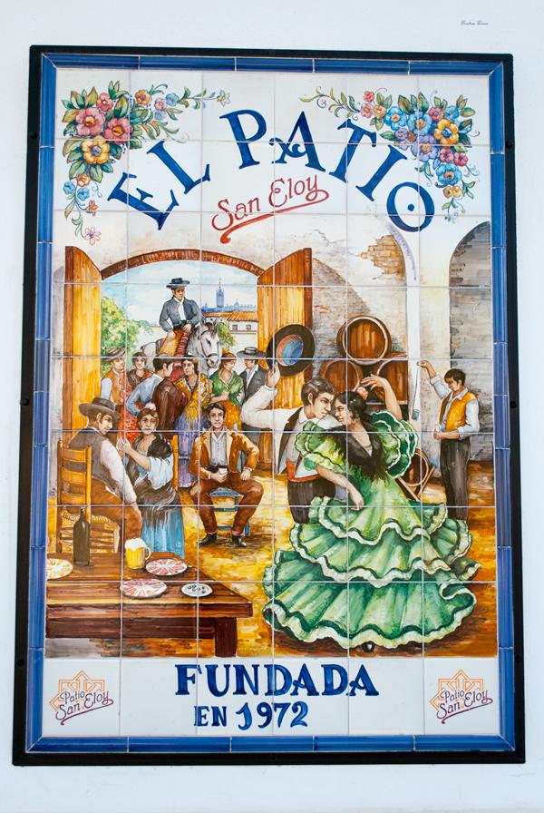 tiles flamenco seville spain