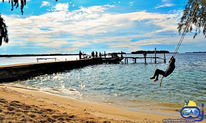 wisata pulau perak pulau harapan