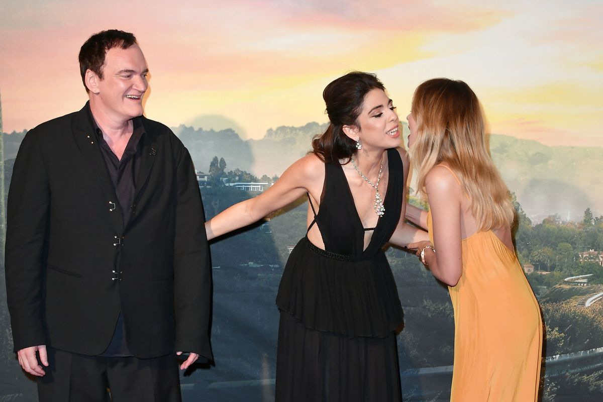 Daniela Pick Clicks At Once Upon A Time In Hollywood Premiere In Rome 2 Aug 2019