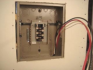 electric work: adding; sub panel installing & wiring the ... basic house wiring diagram basic house wiring subpanel #13