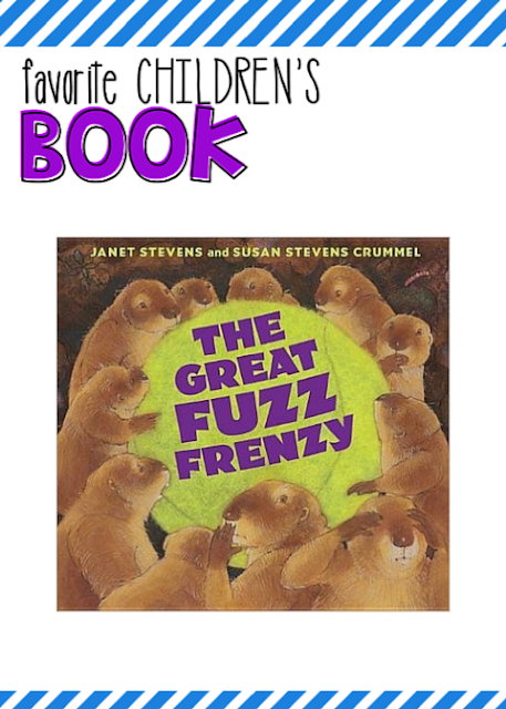 The Great Fuzz Frenzy is my favorite picture book (but then, I do say that a lot.)