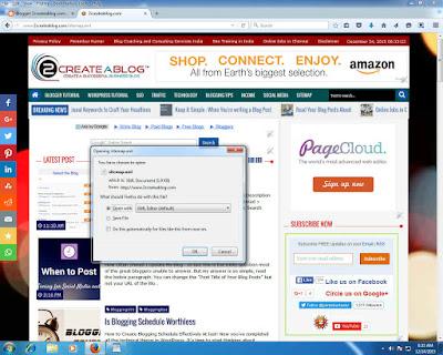 Blogger Sitemap for Google Webmaster Tools