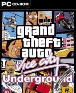 GTA Vice City Underground Cover, Poster