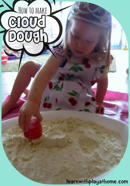 How to make Cloud Dough