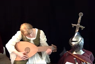 playing the lute, what is a lute, medieval instruments, medieval music, medieval musical instruments, what instruments did they play in medieval times