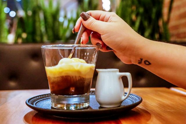 Affogato no Coffeetown Centro Rio
