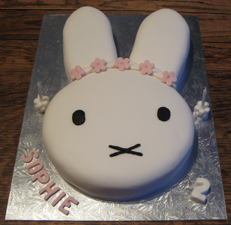 A Miffy Birthday Cake
