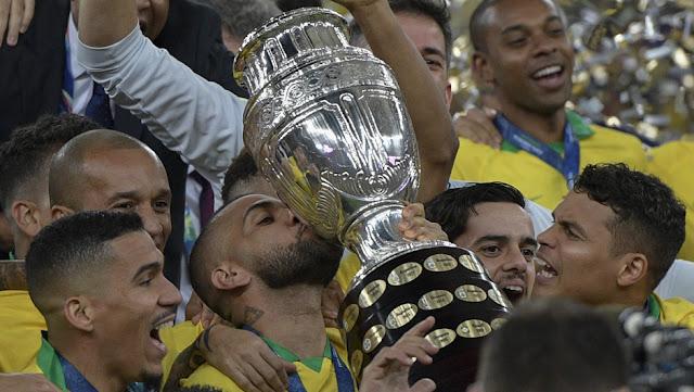BRASIL ES CAMPEÓN DE LA COPA AMÉRICA 2019 AL VENCER A PERÚ POR 3 A 1