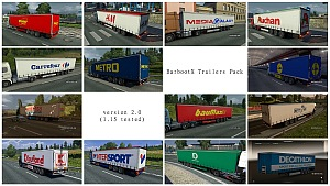 BarbootX Trailers Pack mod version 2.0