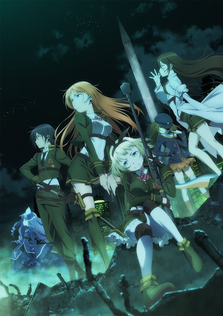 Plakat z anime Taimadou Gakuen 35 Shiken Shoutai