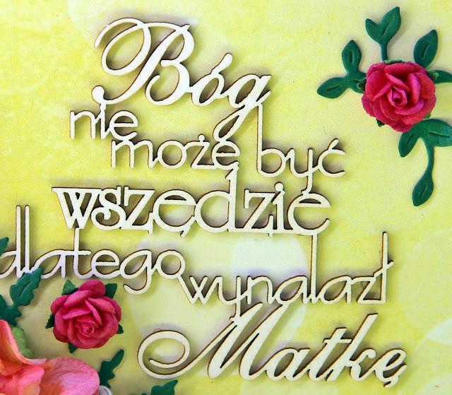 dla mamy, Bóg nie może być wszędzie, Magia Ombre Magiczna kartka, prezent na dzien mamy, energetyczna kartka, jak zlożyć życzenia mamie, mama