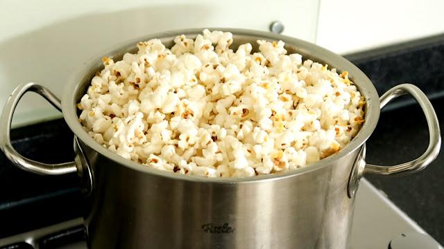 recette, comment faire, pop corn, sans marchine, inratable, rapide