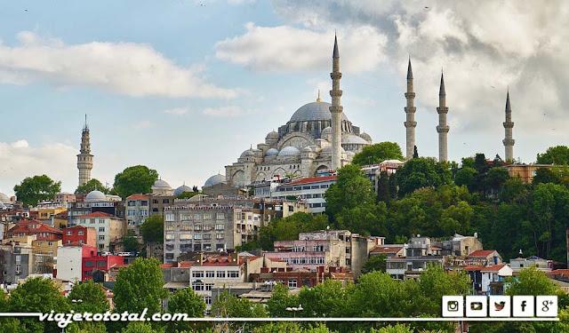 Mezquita de Suleymaniye - Estambul, Turquía